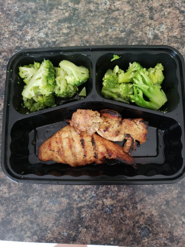 broccoli and chicken breast